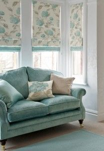 Bay window solutions: blinds, curtains and shutters