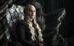 Download wallpapers Game of Thrones, 2017, Daenerys Targaryen, Emilia Clarke
