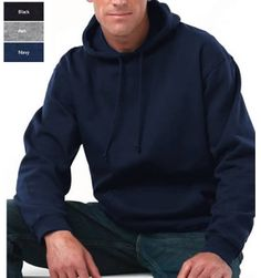 All American Clothing Co  Hooded Pullover Sweatshirt