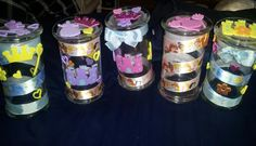 Decorate your Diamond Candle jars and use them as accent pieces and storage for your kids room. You can personalize them however you like and your kids will love decorating their rooms! Share your Diamond Candle jar reuse ideas at www.facebook.com/diamondcandles.