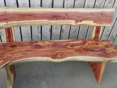 Rustic Cedar Bench For Sale Rustic Cedar Bench For Sale - This Rustic Cedar Bench For Sale design was upload on February, 25 2020 by Kraig Lehner. Here latest Rustic Cedar Bench . Rustic Bench, Rustic Wood, Rustic Decor, Cedar Furniture, Rustic Furniture, Cabin Furniture, Western Furniture, Furniture Design, Outdoor Furniture