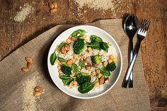 Superfood, Superfoodbowl, Bowl, Reis, Kichererbsen, grün, green, Rice, chickpeas, superfoodbowl, gesund, Mittagessen, Lunch, healthy