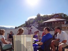 Class on the IES Abroad Granada Terrace by IES Abroad, via Flickr