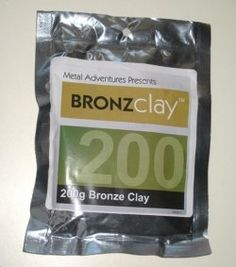 The tools, supplies and equipment you'll need to make bronze jewelry and sculptures with bronze clay.