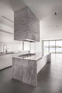 Image 20 of 26 from gallery of Fendi Residence / rGlobe. Photograph by Emilio Collavino House Design, House, Interior, Gray And White Kitchen, Kitchen Decor, Interior Design Kitchen, House Interior, Kitchen Hoods, Kitchen Design
