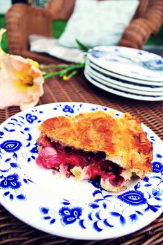 Strawberry Rhubarb Summer Pie Recipe