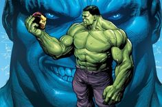 Gerry Duggan kicked off his Hulk run by unleashing a new persona from within the Green Goliath. Doc Green is ready for SMASH the Marvel Universe with his enhanced muscles and mind. In Hulk Dugga… Hulk Marvel, Spiderman, Hulk Comic, Marvel Comics Art, Bd Comics, Marvel Heroes, Hulk Hulk, Hulk Avengers, Comic Book Characters