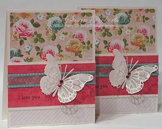 CAS172 - i love you by rainy - Cards and Paper Crafts at Splitcoaststampers