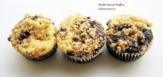 Muffin Monday: Marble Streusel Muffins   Baker Street