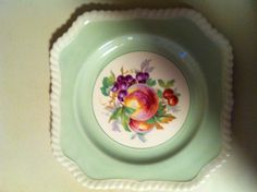 Great old dishes from the cottage; bought a beautiful set of 6 in pastels at an estate sale.