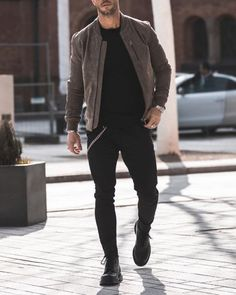 Jacket: SELECTEDSweater: SELECTEDJeans: The KooplesShoes: Dr.... Outfits Casual, Stylish Mens Outfits, Mode Outfits, Men Casual, Style Masculin, Mens Fashion Suits, Fashion Menswear, Mens Clothing Styles, Streetwear Fashion