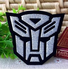 Transformers Embroidery  iron on patch