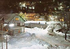 Špindlerův Mlýn večer