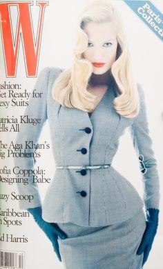 W Magazine's Supermodel Cover Girls - W Magazine December 1994