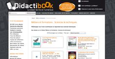 Rayon Sciences & Techniques  http://www.didactibook.com/theme_et_tag/7/Metiers%20et%20formations/151/Sciences%20%20techniques