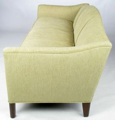 Edward Wormley 1930s Camelback Sofa For Dunbar | From a unique collection of antique and modern sofas at http://www.1stdibs.com/furniture/seating/sofas/