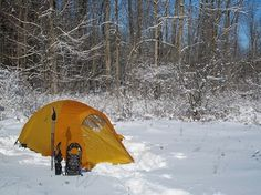 Winter Camping Tips - Part 1