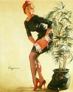 ModestManeuver- Gil Elvgren 1969