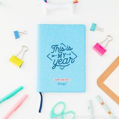 Pocket Diary 2016 - 2017 Weekly - This is my year (ENG) - Mr. Wonderful