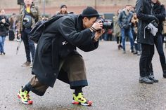 Street Style: YoungJun Koo in the 20th Anniversary Reebok Insta Pump Fury OG