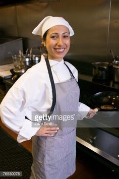 Stock Photo : Chef cooking in kitchen