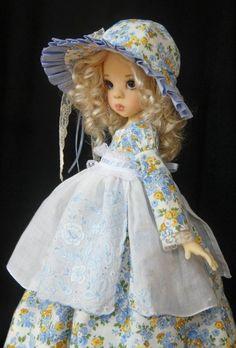 "Blue Skies ~ OOAK Outfit for 18"" Kaye Wiggs MSD BJD Layla~ by Glorias Garden"