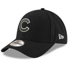 08da0f0fe92d6 Chicago Cubs Black 9Forty Cap by New Era®