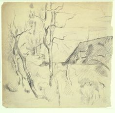 Boijmans Collection Online | Landscape with Bare Trees and a Roof