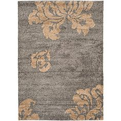 @Overstock - Hand-woven and featuring beautiful beige accents, this dark grey shag rug will add a luxurious touch to your home. With a durable cotton canvas backing and high-density polypropylene pile, this power-loomed rug will beautify any room for days to come.http://www.overstock.com/Home-Garden/Hand-woven-Ultimate-Dark-Grey-Beige-Shag-Rug-8-x-10/5665209/product.html?CID=214117 $248.57