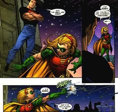 Stephanie doesn't get nearly enough credit for being Robin Batgirl And Robin, Batman Robin, Stephanie Brown Robin, Stephen Brown, Comic Book Superheroes, Comic Books, Batman Family, Batman And Superman, Dc Heroes