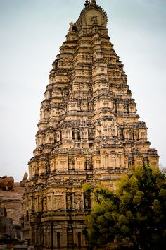 Virupaksha Temple in Hampi, India