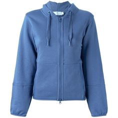 Pre-owned Stella Mccartney Blue 'ess' Hoodie Long Sleeve (1.467.675 IDR) ❤ liked on Polyvore featuring tops, hoodies, blue, long sleeve hoodie, stella mccartney, blue top, hooded pullover and blue hoodie
