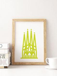 Sagrada Família Art Print