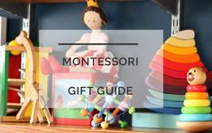 Popular mom blogger DIY Decor Mom features her favorite Montessori Gifts for toddlers and babies. Click here to see them all and shop!
