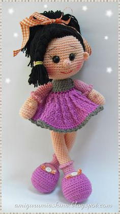 Amigurumi Askina Yilbasi Bebegi : 1000+ images about Yarn Dolls on Pinterest Amigurumi ...
