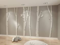Birch Tree Wall Art Apply this Birch Tree Wall Art in any flat surface. If you are looking for a piece of art in your home or office walls Birch Tree