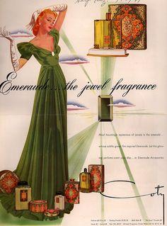 Coty, Harper's Bazaar  1941