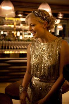 A Black Tie, Art Deco Inspired Wedding at St Pancras Station. Art Deco Wedding Dress, Art Deco Dress, Wedding Gowns, Gatsby Wedding Dress, 1920s Wedding, Bridesmaid Inspiration, Wedding Inspiration, Vestido Art Deco, Moda Art Deco