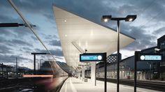 kadawittfeldarchitektur: Projekte - Salzburger Hauptbahnhof