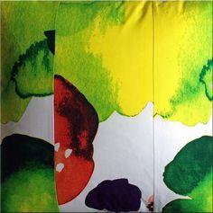 Marimekko 'Juhannastaika' cushion in multicolours 60x60cm