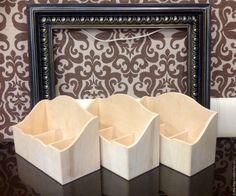 Купить Заготовка Короб для специй с накладкой - бежевый, короб для кухни, короб для специй, Декупаж