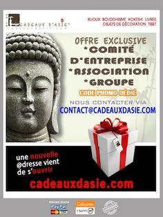 Un Comité d'Entreprise, une Association, un Groupe = un code-réduction pour des petits prix toute l'année !!!