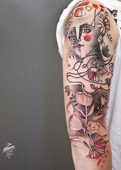 Katarzyna Krutak tattoo