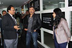 Prakash Jha with Mr. Chopra
