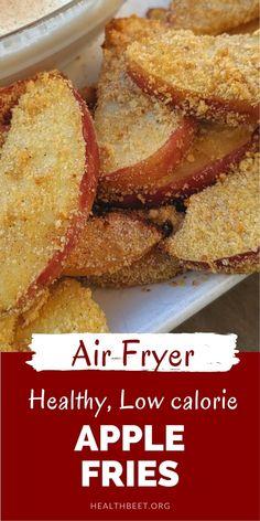 Air Fryer Recipes Dessert, Air Fryer Oven Recipes, Air Frier Recipes, Snack Recipes, Apple Recipes Dinner, Apple Recipes Easy, Sweets Recipes, Appetizer Recipes, Baking Recipes