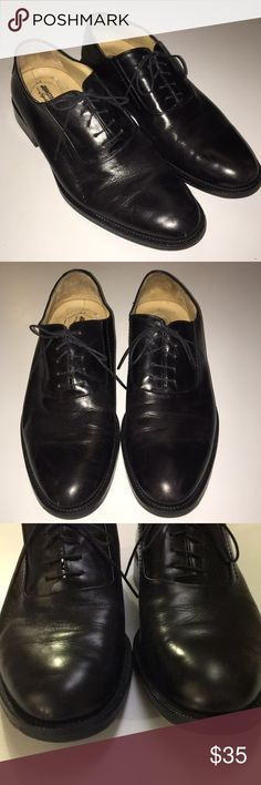 Johnston & Murphy Men's Lace-up Dress Shoes 9 Johnston & Murphy Men's Lace-up Signature Series Dress Shoes, Size 9. Good used condition. Johnston & Murphy Shoes Oxfords & Derbys