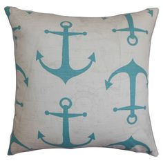 Anchors Aweigh Pillow - The Outlet/ coastal