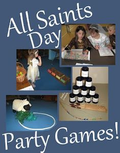 All Saints Day DIY Costumes, games, and other ideas {Plus, a Link-up}   Catholic Inspired.com