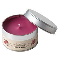 Tin Candle-Plum