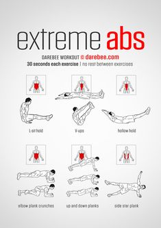 "Abs power everything. They facilitate every movement. They amplify the power the body can generate. Extreme Abs is a difficulty Level V workout that will make you say ""ouch!"". It is worth it in terms of the results it delivers not just in the way you feel, but in the way you do anything!"